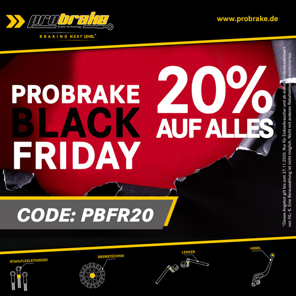 probrake Black Friday 2020