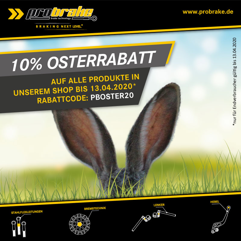 10% auf Alles. Frohe Ostern