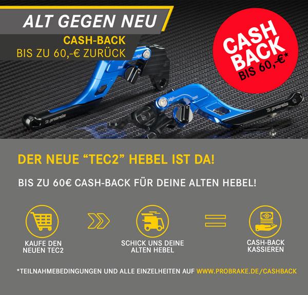 TEC2 Cash-Back Aktion!