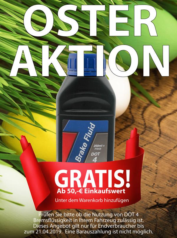 Bremsflüssigkeit ab 50,-€ Einkaufswert, GRATIS dazu!