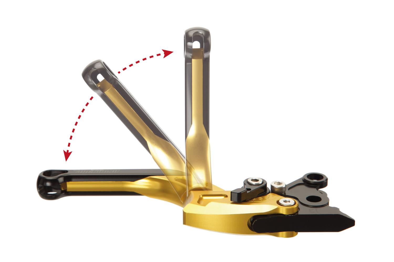 02-03 RN09 Vorne SB Stahlflex Bremsleitung schwarz für Yamaha YZF-R1