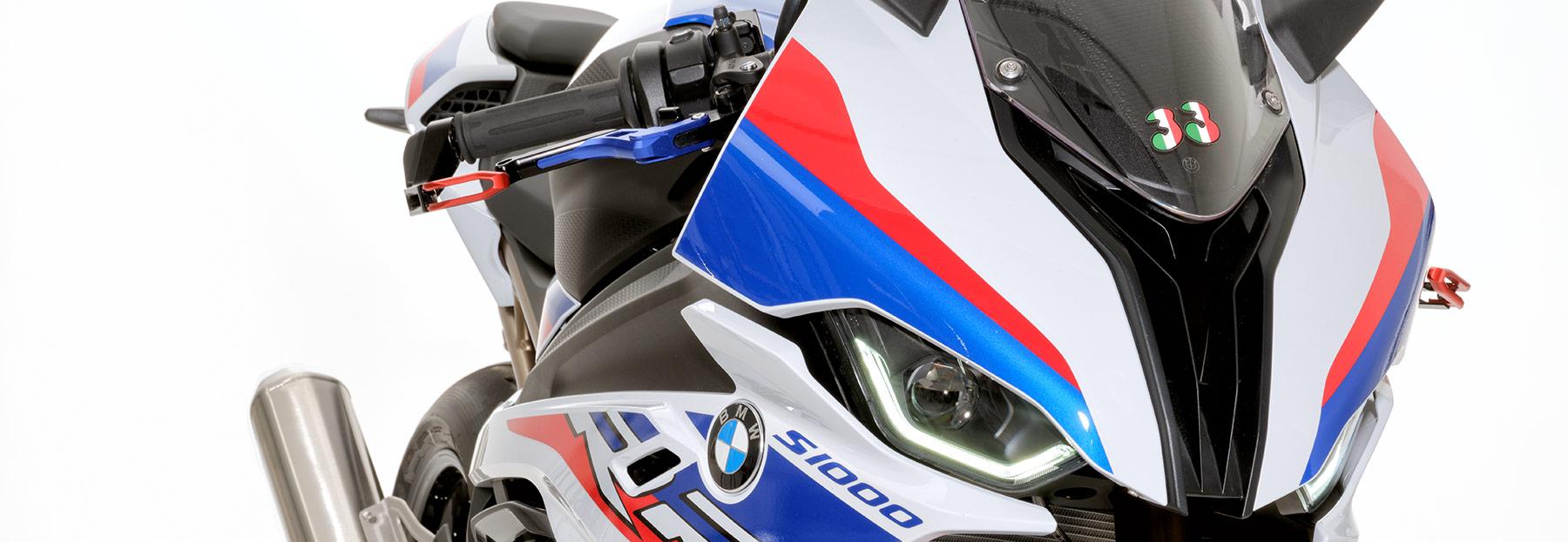 Die probrake Bremshebel und Kupplungehebel an der BMW S 1000 RR